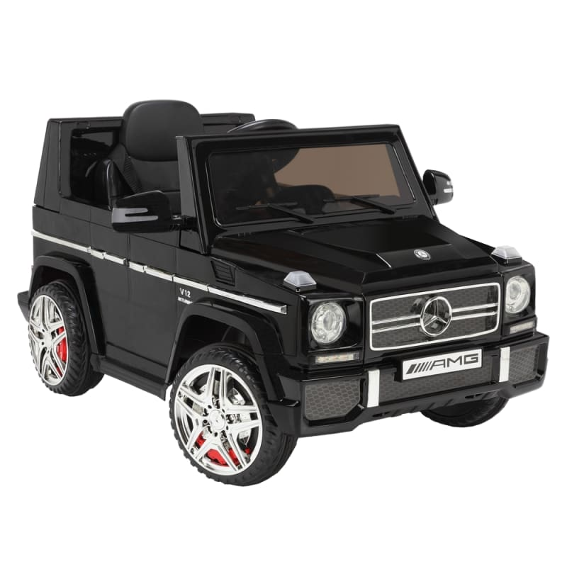 OPEN BOX Mercedes by ZAAP G65 12v Ride On Kids Electric Battery Toy Car Black