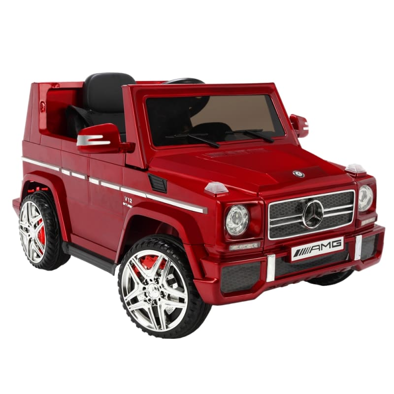 OPEN BOX Mercedes by ZAAP G65 12v Ride On Kids Electric Battery Toy Car Red