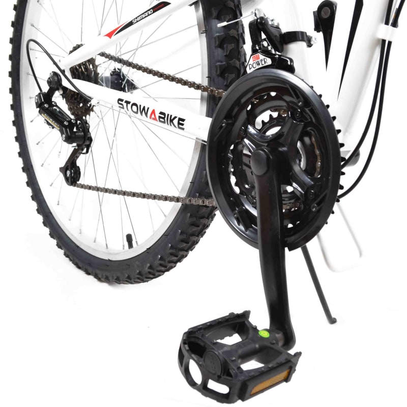 Stowabike Folding MTB V2 Mountain Bike Red / White #3