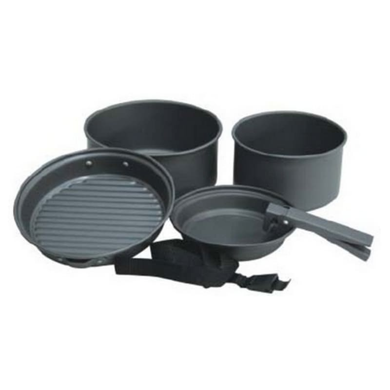 5pc Cook Set by Camping.co.uk