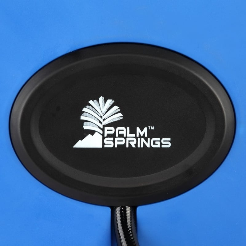 """OPEN BOX Palm Springs 65ft Retractable Air Hose Reel - Wall Mounted with 180° Swivel - 65ft 3/8"""" Hose 300 PSi #4"""