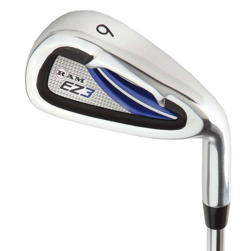 Ram Golf EZ3 Mens Right Hand Iron Set 5-6-7-8-9-PW - FREE HYBRID INCLUDED #2