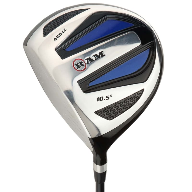 Ram Golf EZ3 Mens Wood Set inc Driver, 3 Wood and 5 Wood - Headcovers Included - Graphite Shafts - LEFTY #