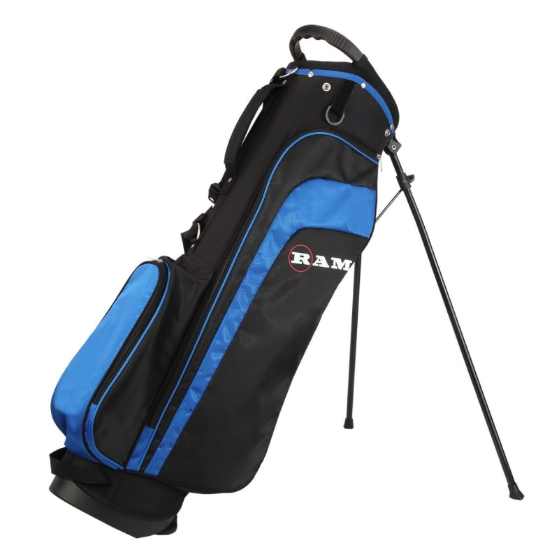 Ram Golf EZ3 Mens Golf Clubs Set with Stand Bag - Graphite/Steel Shafts #10