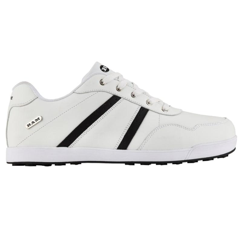 Ram FX Comfort Mens Waterproof Golf Shoes - White / Black #1