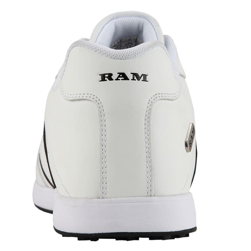 Ram FX Comfort Mens Waterproof Golf Shoes - White / Black #3