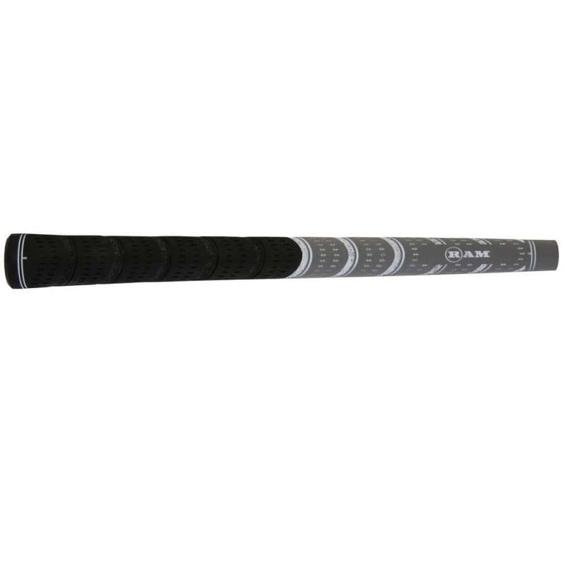 7 x Ram FX Midsize Golf Grip- Black/Grey #