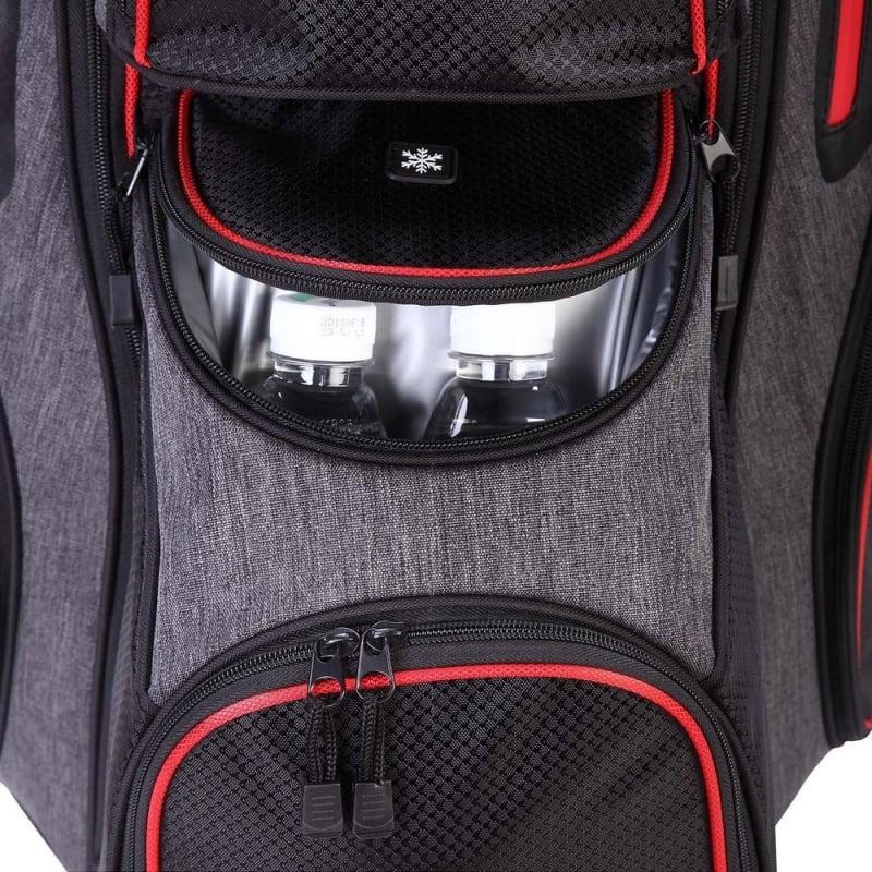 Ram Golf Lightweight Cart Bag with 14 Way Dividers #4