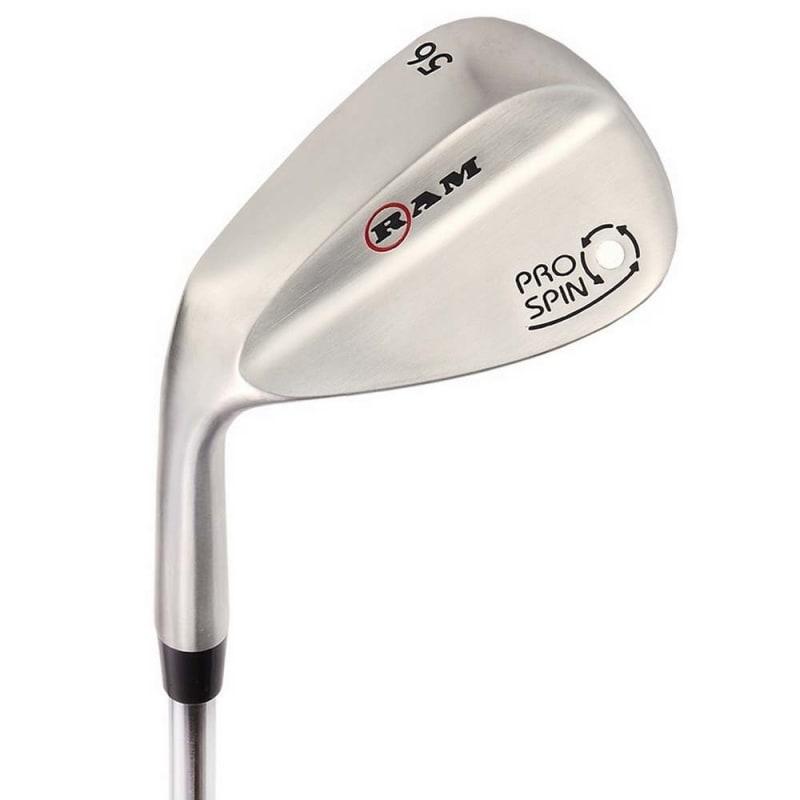 OPEN BOX Ram Golf Pro Spin 3 Wedge Set - 52° Gap, 56° Sand, 60° Lob Wedges - Mens Left Hand #1