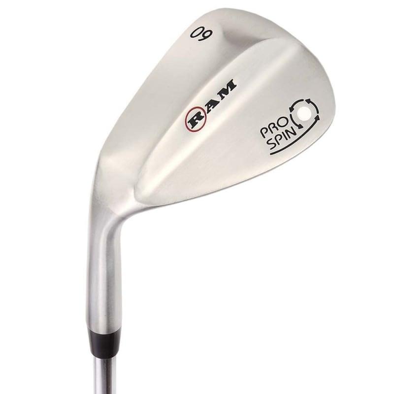 Ram Golf Pro Spin 3 Wedge Set - 52° Gap, 56° Sand, 60° Lob Wedges - Mens Left Hand #2