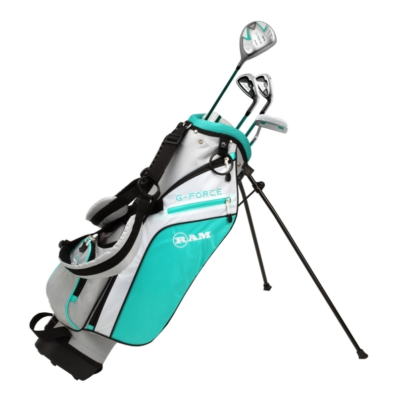 Ram Golf Junior G-Force Girls Golf Clubs Set with Bag Age 4-6