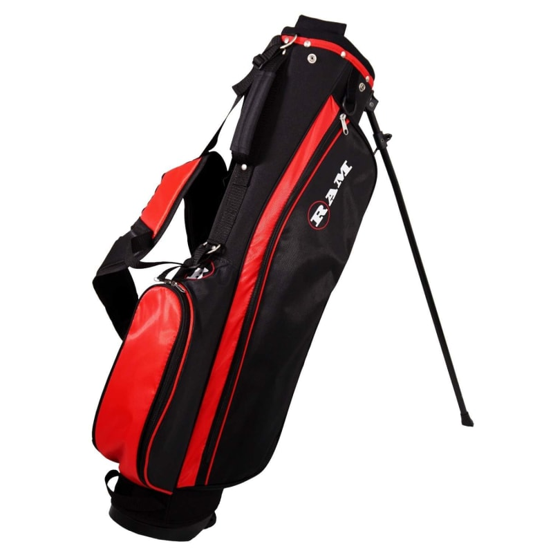 OPEN BOX Ram Golf SGS Mens Golf Clubs Starter Set with Stand Bag - Steel Shafts #6