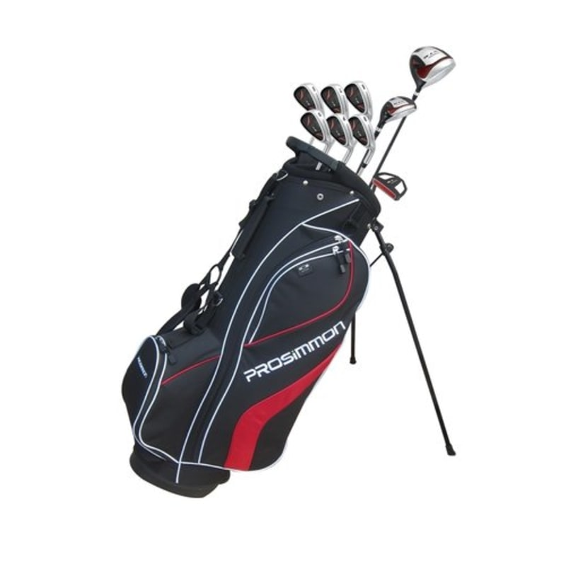 Prosimmon V7 Golf Set Graph/Steel Reg MRH Black