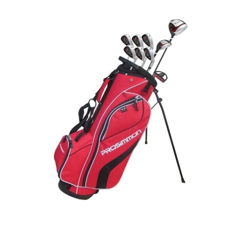 Prosimmon V7 Golf Package Set 1 Inch Longer- Red