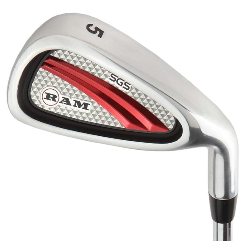 OPEN BOX Ram Golf SGS Mens Golf Clubs Starter Set with Stand Bag - Steel Shafts #1