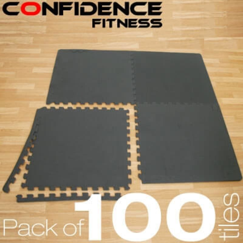 Confidence EVA Floor Mat / Guards - 100 Tiles