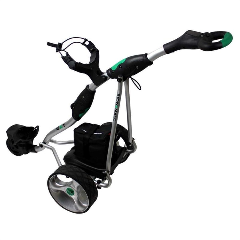EX-DEMO Stowamatic GXT Electric Golf Trolley SILVER - No Battery