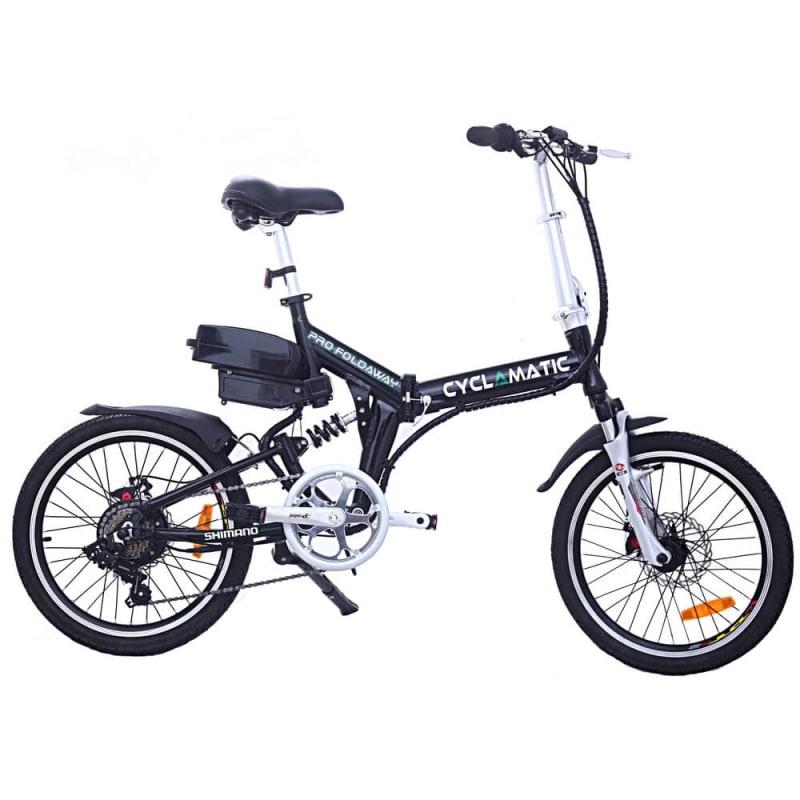 EX-DEMO Cyclamatic CX4 Pro Folding Electric Bike-Black