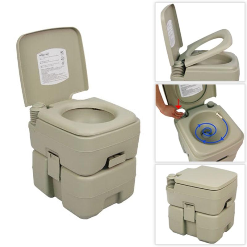 Palm Springs 5 Gallon Portable Toilet