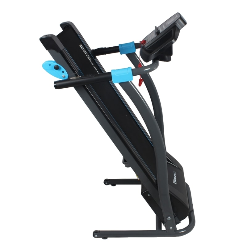 Confidence Fitness TP-3 Folding Electric Treadmill - Motorized Running Machine with Manual Incline, LCD and Phone/Tablet Holder #4