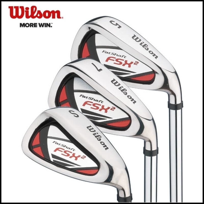 Wilson Fat Shaft FSX2 Irons Set