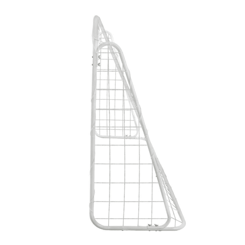OPEN BOX Woodworm Metal Soccer Goal - 6ft x 4ft Soccer Goal with Target Nets #2