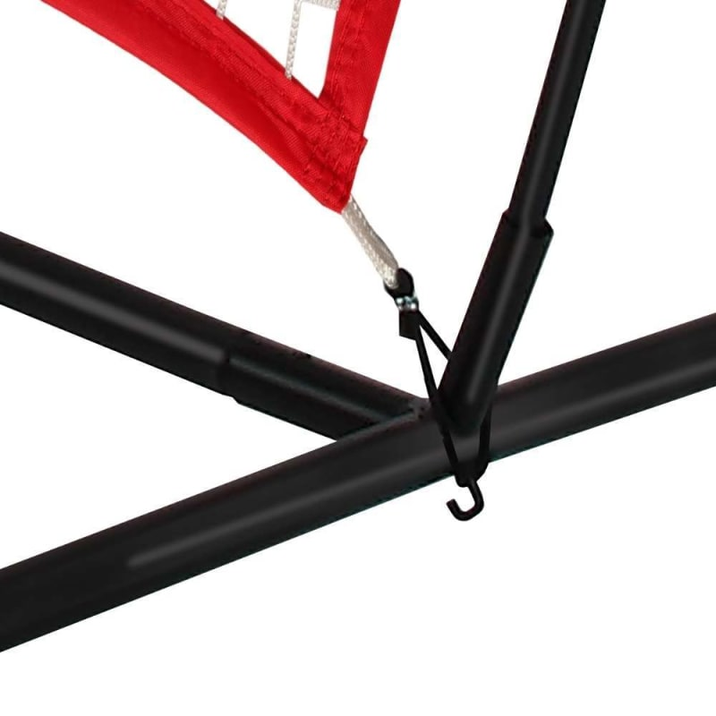 Wodoworm 7ft x 7ft Quick Up Sports Bow Frame and Net - Practice/Protective Net Screen for Baseball, Softball and Other Sports #2
