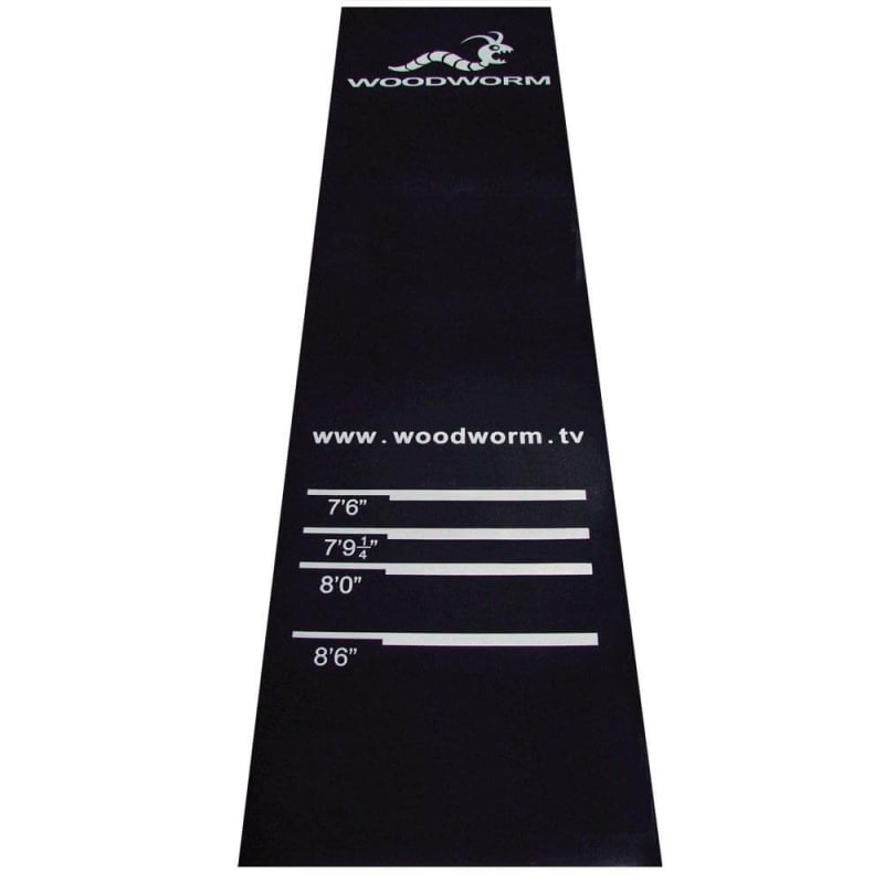 EX-DEMO Woodworm Darts Rubber Mat