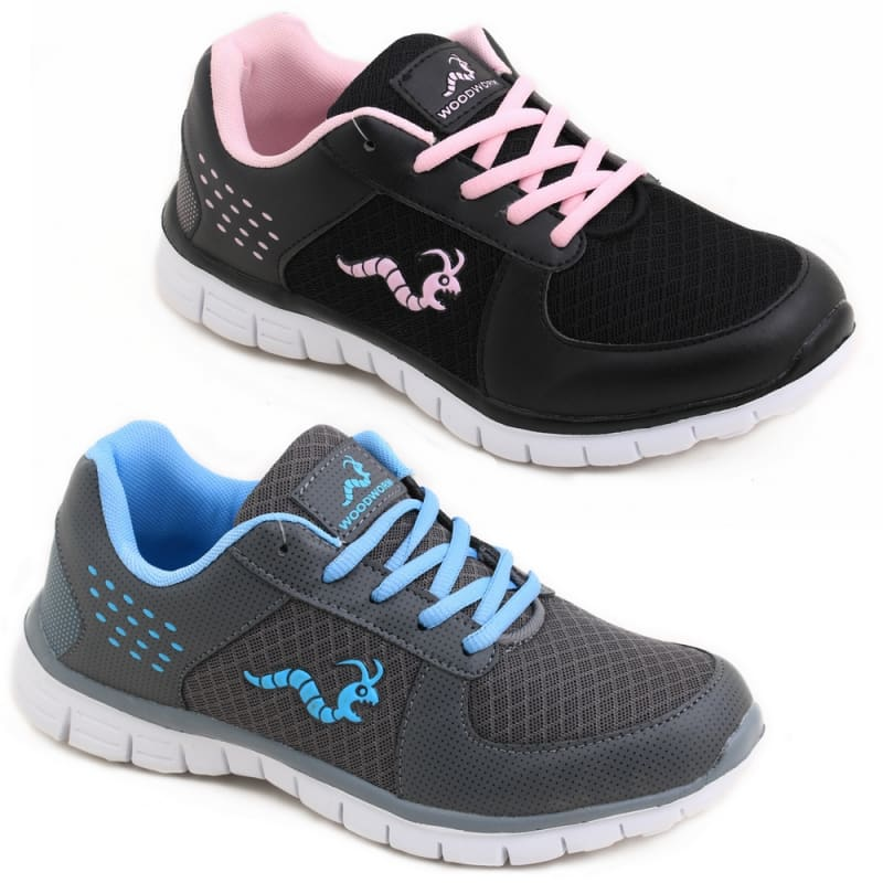 2 x Woodworm LXT Ladies Running Shoes / Trainers