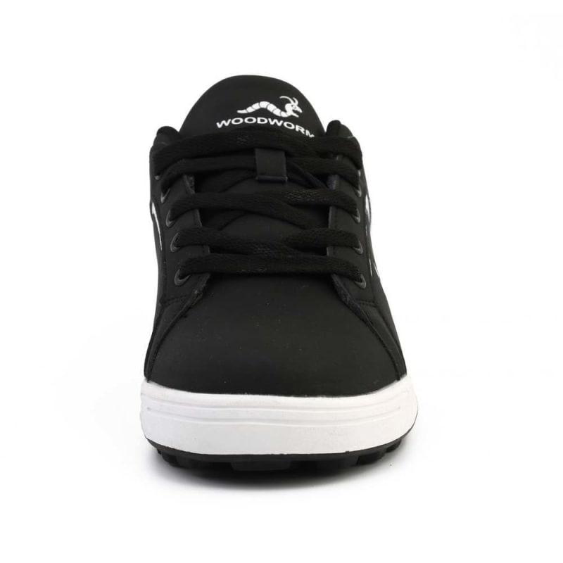 Woodworm Golf Surge V3 Mens Golf Shoes Black/White #3
