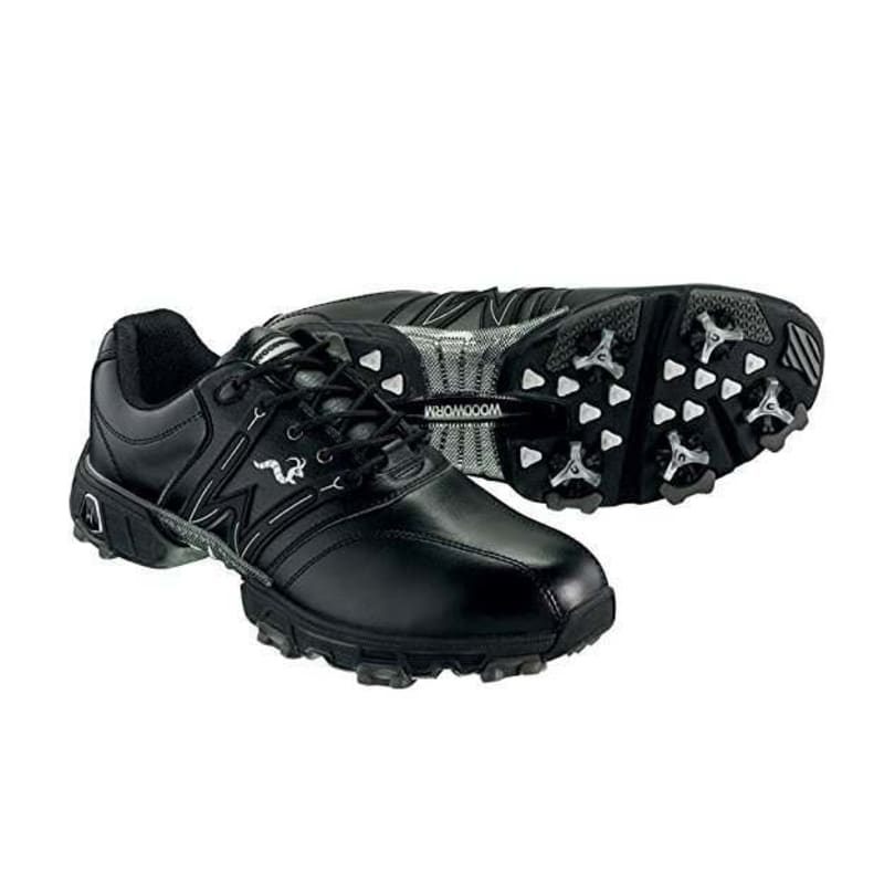 Woodworm Golf Tour Golf Shoes Black