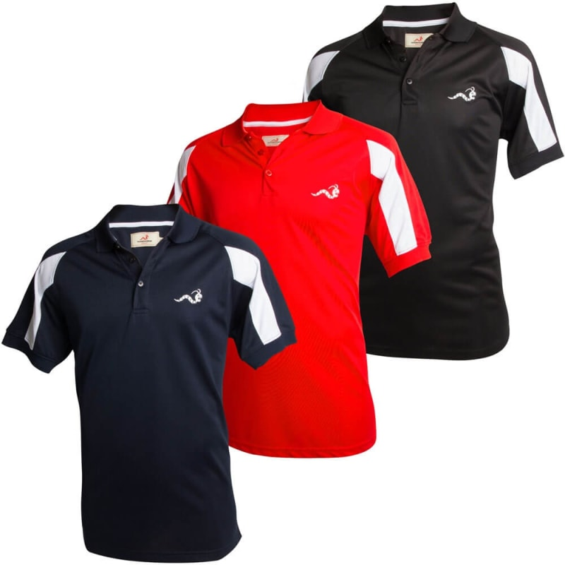 Woodworm Tour Performance Polo 3 Pack