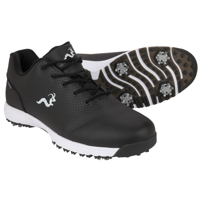 Woodworm Tour V3 Mens Waterproof Golf Shoes - Black #