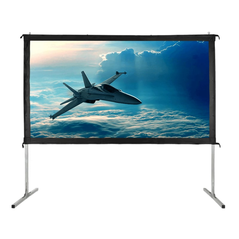 "Homegear Fast Fold Portable 90"" Projector Screen 16:9 HD for Indoor/Outdoor Use #1"