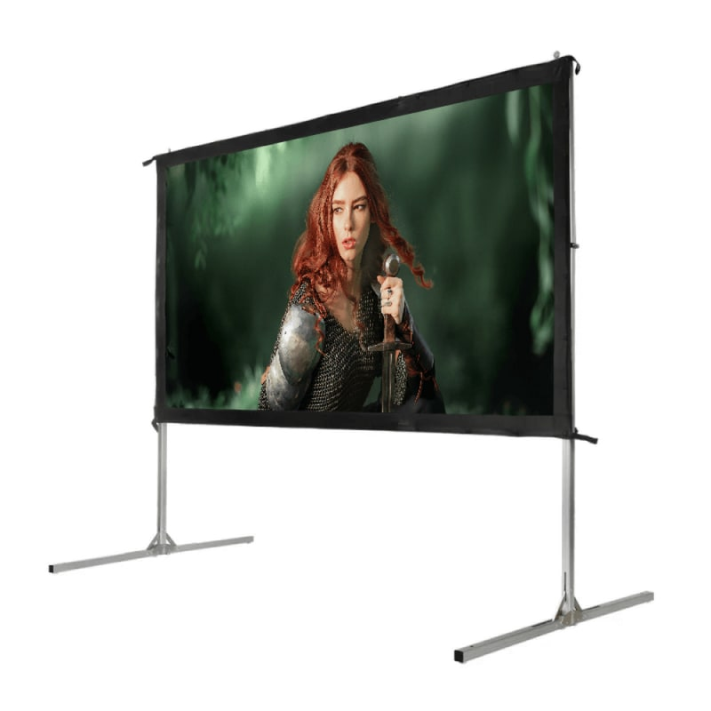"Homegear Fast Fold Portable 100"" Projector Screen 16:9 HD for Indoor/Outdoor Use #2"