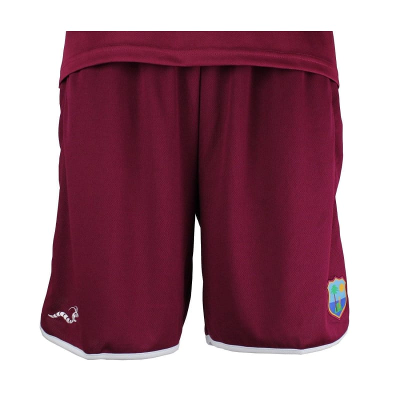 Official West Indies Cricket Replica Training Shorts
