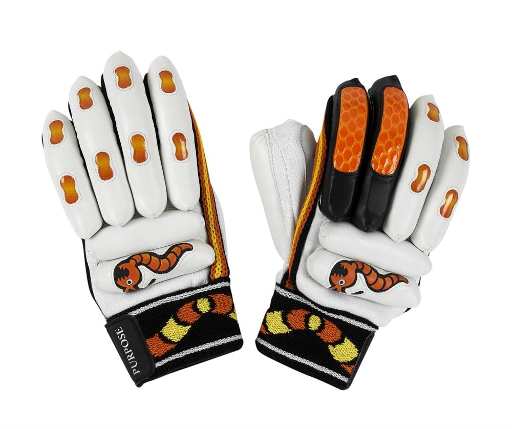 Woodworm Cricket Junior Purpose Batting Gloves
