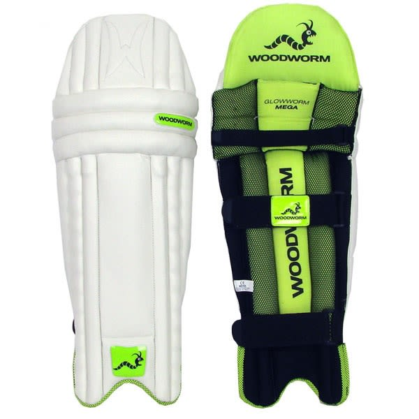 Woodworm Cricket Glowworm Mega Junior Batting Pads The