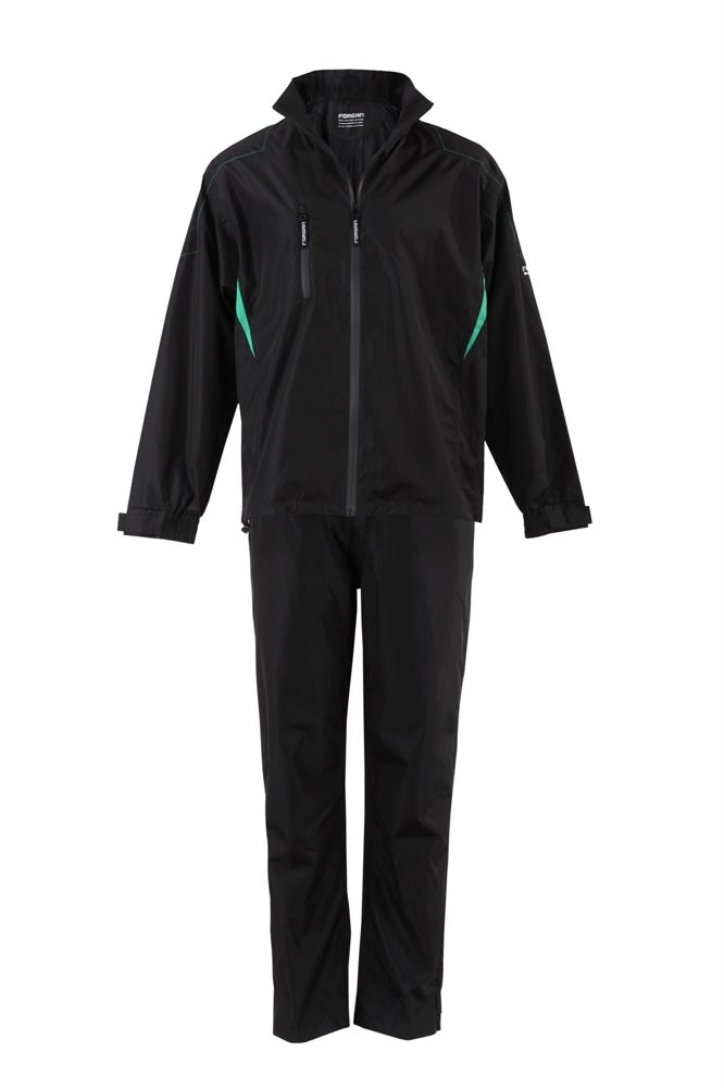 53d44afcd6b4 Forgan Golf V2 Waterproof Suit Black - Forgan of St Andrews Since 1860