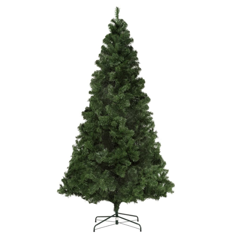 Homegear Deluxe 7 5ft Artificial Christmas Tree With Metal