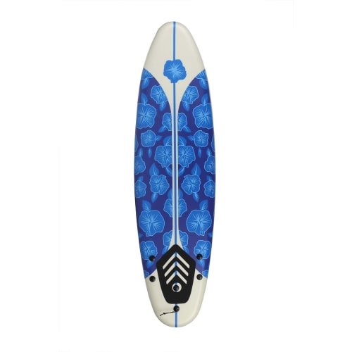 OPEN BOX North Gear 6ft Foam Surfboard Blue / White