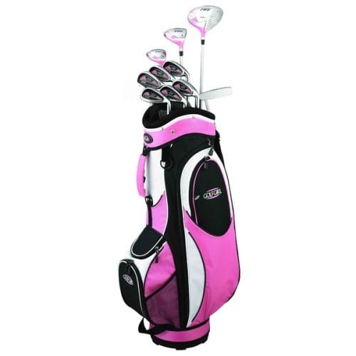 GolfGirl FWS2 Golf Clubs Package Set + Bag PINK