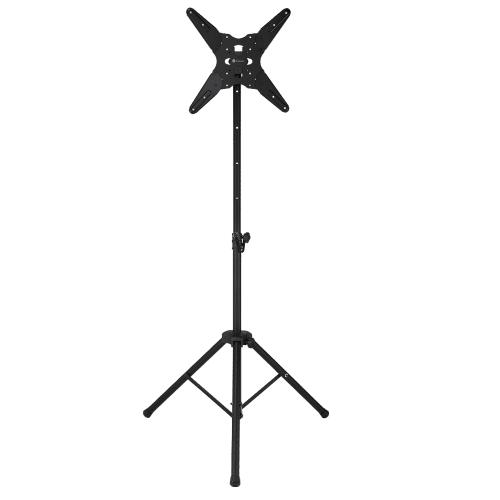 Homegear Mobile Folding Tripod TV Stand - Portable LED/LCD/Plasma Mount with Tilt