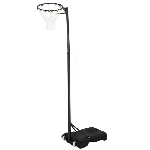 Woodworm Outdoor Deluxe 3.05m Pro Adjustable Netball Post and Net