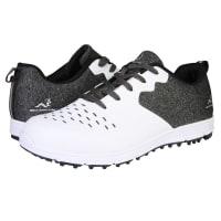 Woodworm Golf Sense Spikeless Golf Shoes, Mens, White/Black