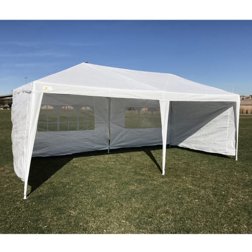 Palm Springs 3M x 6M Party Tent Marquee w/ 4 Panels