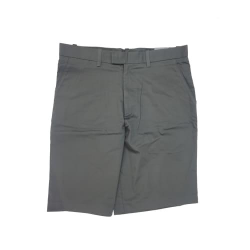 Ashworth Mens Flat Front Grey Golf Shorts