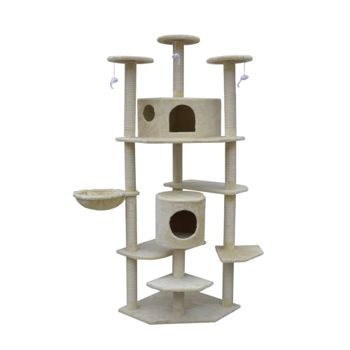 "Confidence Pet 80"" Palace Cat Tree BEIGE"