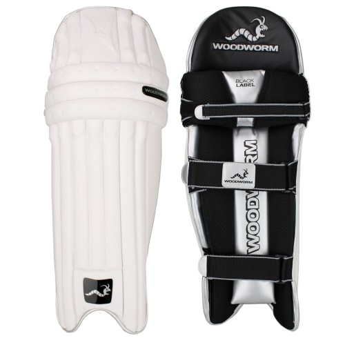 Woodworm Cricket Black Label Mens Batting Pads