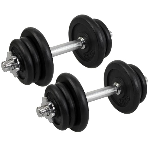 Confidence 25kg Dumbbell Weights Set
